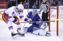 Leafs vs. Rangers Recap: Andersen Steals A Point