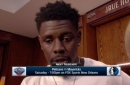 Jrue Holiday talks disappointing loss to Houston