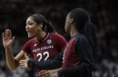 #7 South Carolina takes care of Texas A&M, tied for SEC lead with one game left