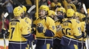 Forsberg's hat trick helps Predators beat Avalanche 4-2