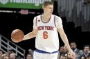 Injured Porzingis tweets cryptic meme and then deletes it