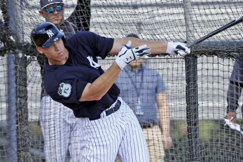 Aaron Judge is the dangerous show of Yankees camp