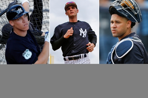 Three young Yankees who must have huge spring trainings