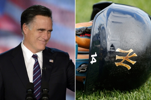 Red Sox fan Mitt Romney pushing to own part of Yankees