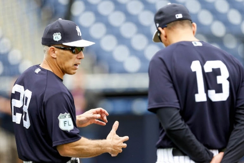 8 Yankees things for Friday; Joe Girardi's plan for Grapefruit League opener