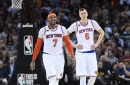 No ligament damage for Porzingis, but Knick to miss a few days