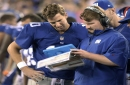 Giants' fourth-round pick pushed back 10 spots over illegal use of walkie-talkies vs. Cowboys
