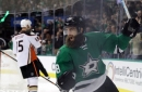 Anaheim Ducks acquire Patrick Eaves from Dallas Stars for a draft pick