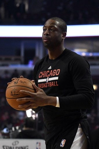 Wade returns to Bulls' lineup after missing 3 games The Associated Press