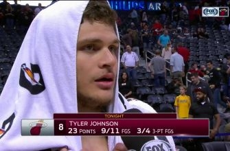 Tyler Johnson on being in hunt: It's what makes basketball fun