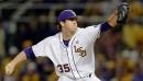 LSU baseball wins series opener as Alex Lange fans 12 against Maryland