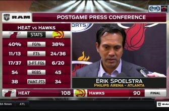 Erik Spoelstra pleased with Heat's mindset Friday night