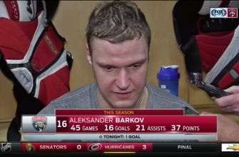 Aleksander Barkov says Panthers need to tighten up defensively