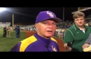 LSU pitcher Alex Lange strong from the start in win against Maryland