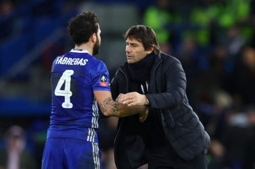 Cesc Fàbregas is '100 per cent' staying at Chelsea next season