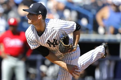 Yankees righty healthy and set to make run at rotation spot