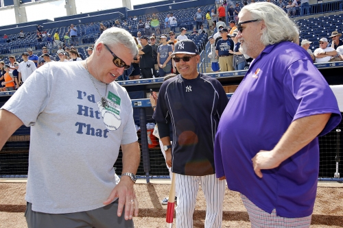 Rex Ryan stays classy with his go-to dirty joke at Yankees game