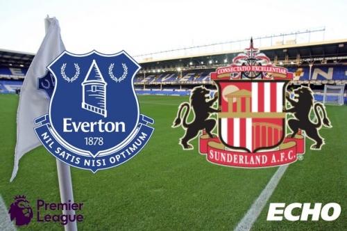 Everton vs Sunderland - LIVE team news and goal updates from Goodison Park