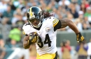 Watch DeAngelo Williams jump into freezing cold water while also dissing the Browns