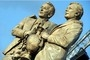 Is the Brian Clough and Peter Taylor statue in Derby in the right...