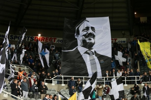 Rafa Benitez has a message for Gallowgate Flags group after they lifted St James' Park once again