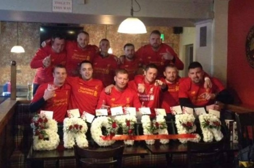 Friends and family devote funeral to LFC in memory of lifelong fan