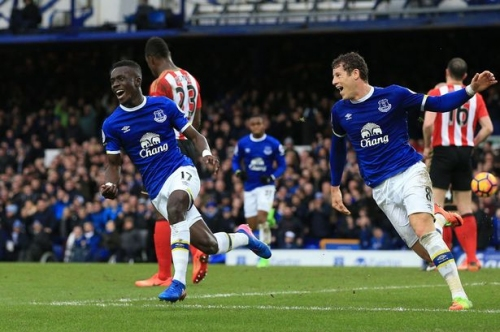 Everton 2-0 Sunderland full-time report - Record-equalling Lukaku helps extend unbeaten run