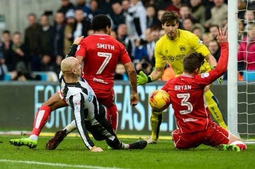 Newcastle 2-2 Bristol City match report: Magpies rally back to salvage a point at St James' Park