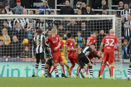 Newcastle United 2-2 Bristol City: Your chance to rate the players' performance