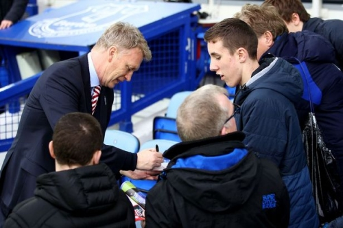 Former Everton boss David Moyes rues failing to silence crowd on Goodison return