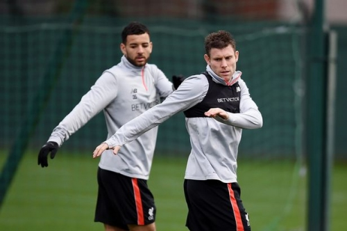 Leicester vs Liverpool - Reds train at Melwood ahead of clash, but Sturridge and Lovren still absent