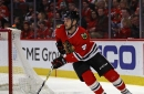 Niklas Hjalmarsson out vs. Blues with upper-body injury, listed as 'day to day'