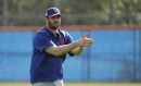 WATCH: Mets' mustached Matt Harvey throws live BP