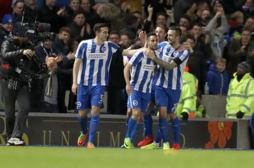 Brighton & Hove Albion 3 Reading FC 0: Superb Seagulls ease past Royals