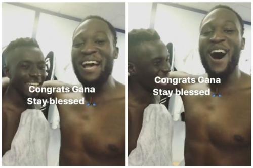 Lukaku congratulates Gueye after midfielder nets first Everton goal in 2-0 Sunderland win