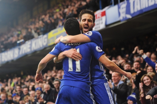 Antonio Conte delighted with the impact of his Spanish stars as Chelsea open up eleven point lead at the top of the table