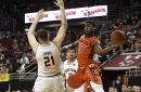 BOSTON COLLEGE MEN'S BASKETBALL FINAL SCORE: Eagles Can't Keep Up with Va. Tech, Fall 91-75 On Senior Day