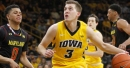 Recap: Iowa knocks out No. 24 Maryland behind a 3-point barrage