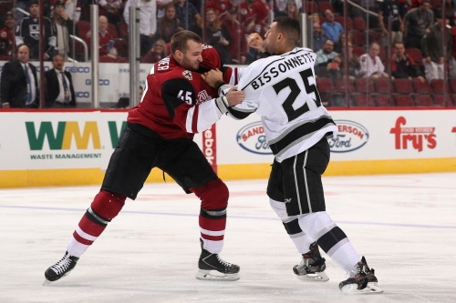 Lightning trade minor-leaguer Jeremy Morin to Arizona Coyotes for Stefan Fournier