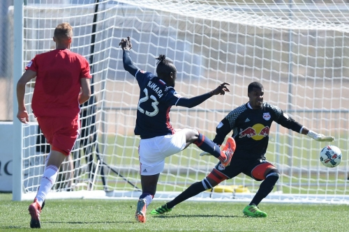 Three Thoughts: New York Red Bulls (II) close out preseason with 2-0 loss to New England Revolution