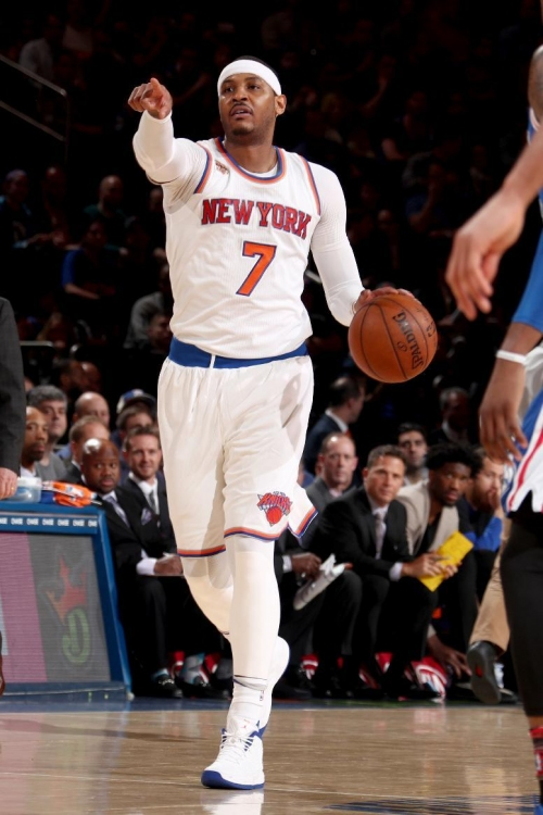 Anthony's jumper gives Knicks 110-109 victory over 76ers The Associated Press