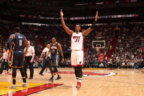 George ejected, Heat stay hot with 113-95 win over Pacers The Associated Press