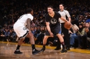 Splash Brothers lead way for Warriors with Durant out hurt The Associated Press
