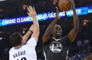 Nets put up a fight, but Warriors remain the Warriors