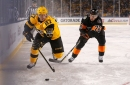 Penguins topple Flyers in outdoor game