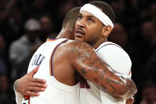 For one night, the Knicks aren't a messy soap opera