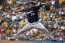Wily Peralta takes the mound for Brewers' opener