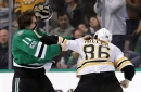 Bruins Quick Offensive Strikes Down Stars 6-3