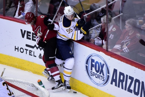 Sabres at Coyotes Coverage: Game #62