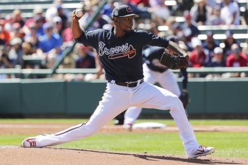 Julio Teheran sharp in Braves loss to Astros